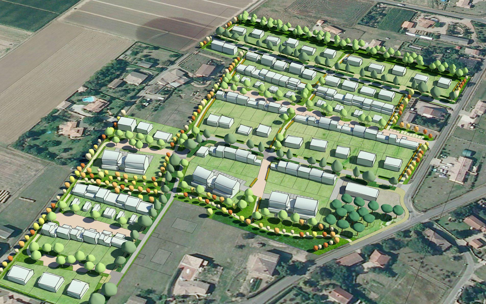 Eco-quartier – Sainte-Bazeille (47)