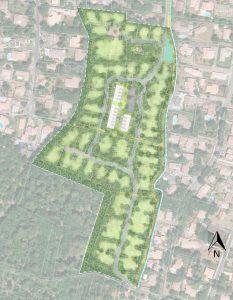 études d'aménagement d'un lotissement – Gujan-Mestras (33)
