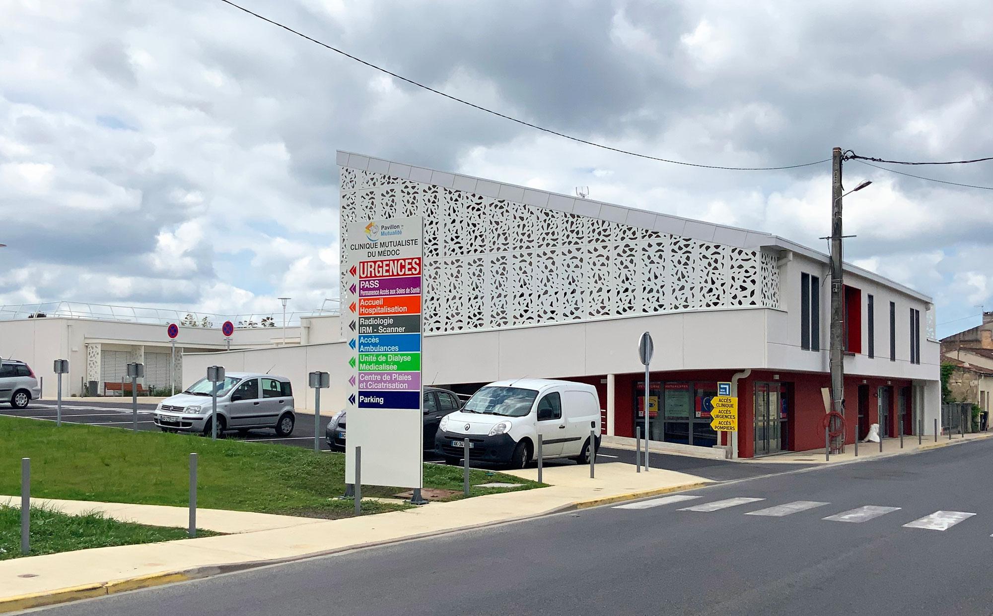 UDM, Hôpital de jour & Commerces – Lesparre (33)