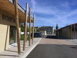 Centre ville et pôle commercial – Gensac-La-Pallue (33)